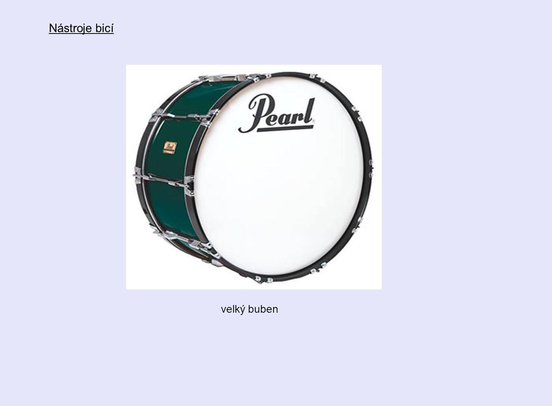 velký buben Nástroje bicí
