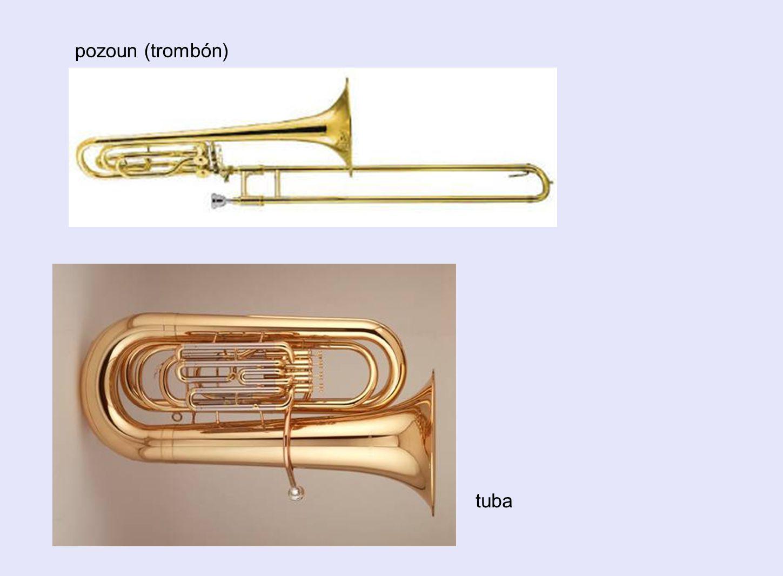 pozoun (trombón) tuba