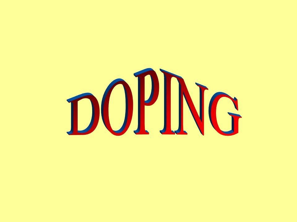 Jako doping se ve sportu označuje používání pravidly zakázaných podpůrných látek a prostředků.