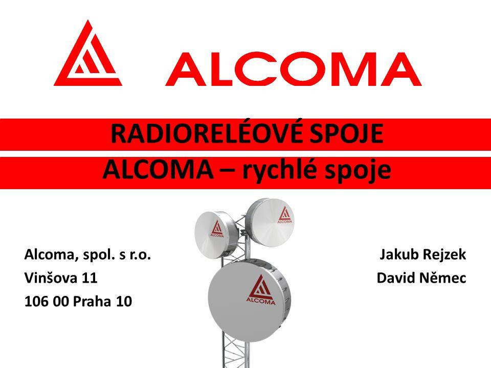 RADIORELÉOVÉ SPOJE ALCOMA – rychlé spoje Alcoma, spol.