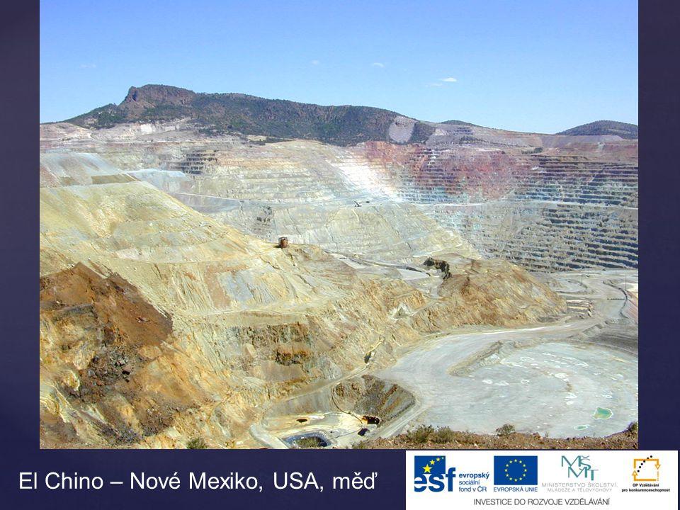 Měděný důl Bingham Canyon, Utah
