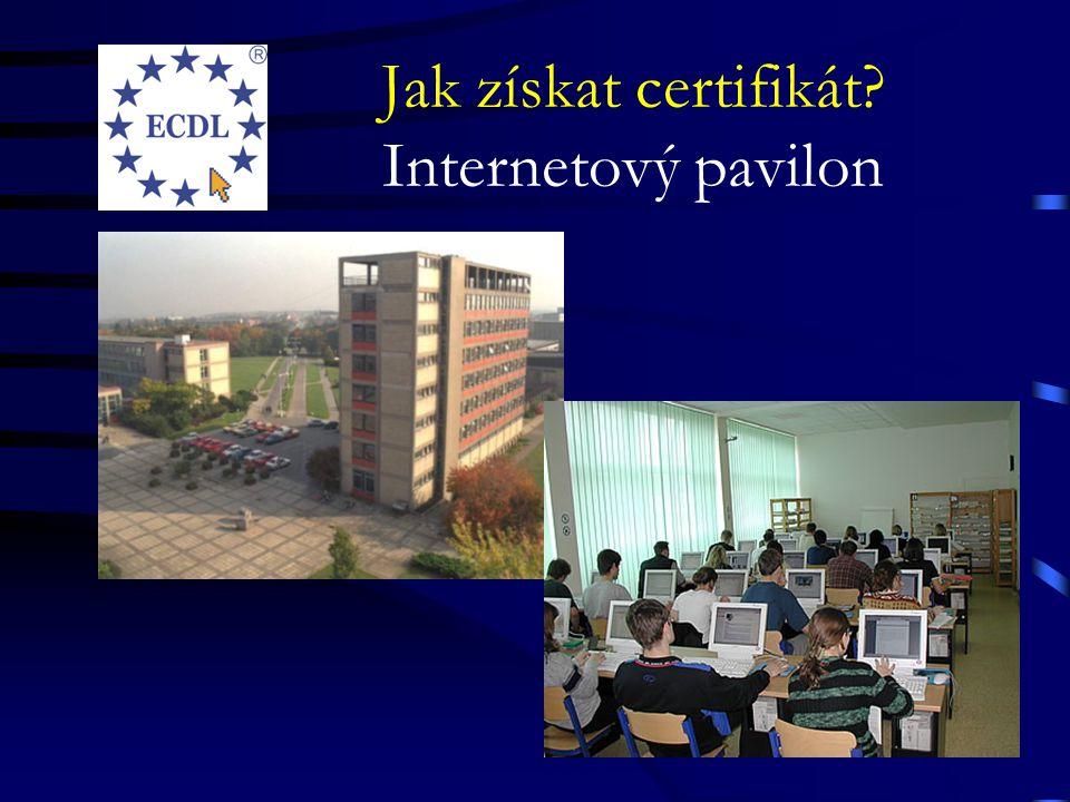 Jak získat certifikát.http://ecdl.czu.cz 1.