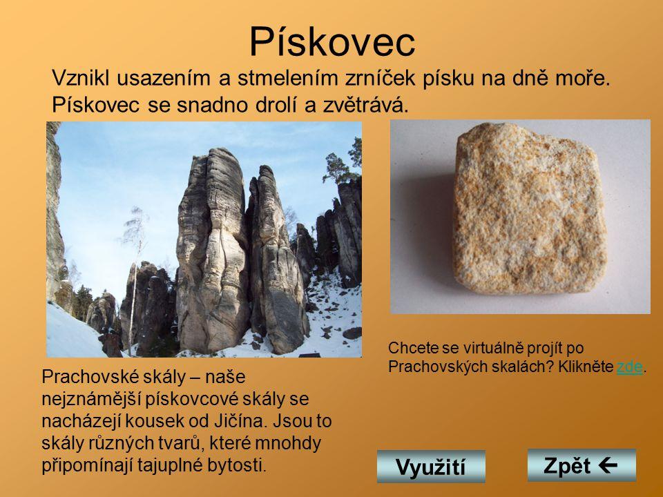 Vyvřelé Mezi vyvřelé horniny patří: žula čedič Zpět 