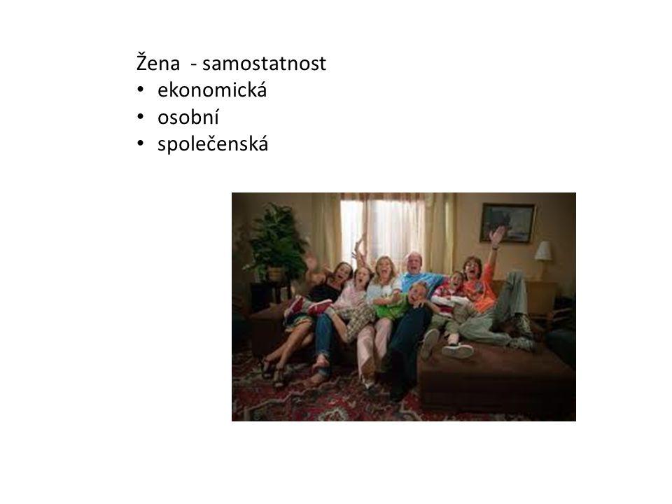petrc.wz.cz Žena - samostatnost ekonomická osobní společenská