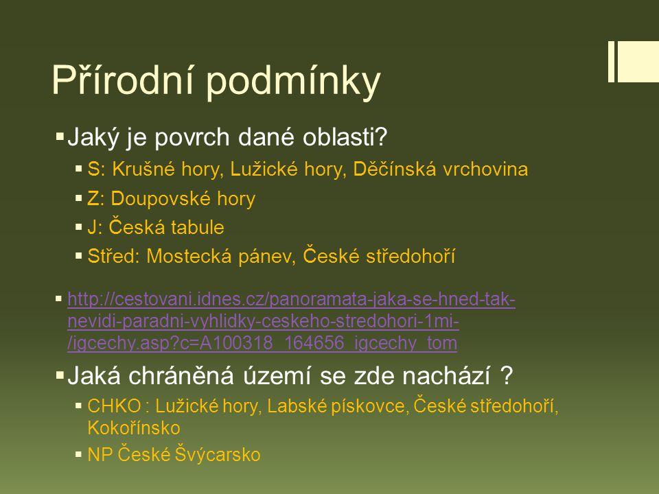 Porta Bohemica  Labe vstupuje do Českého středohoří Obr. 2 Obr. 3