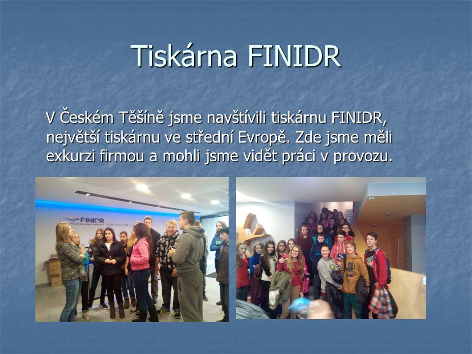Tiskárna FINIDR V Českém Těšíně jsme navštívili tiskárnu FINIDR, největší tiskárnu ve střední Evropě.