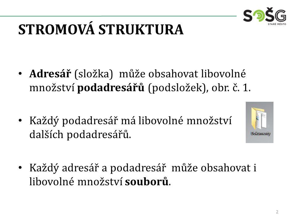 PŘÍKLAD STROMOVÉ STRUKTURY, obr.č. 2.