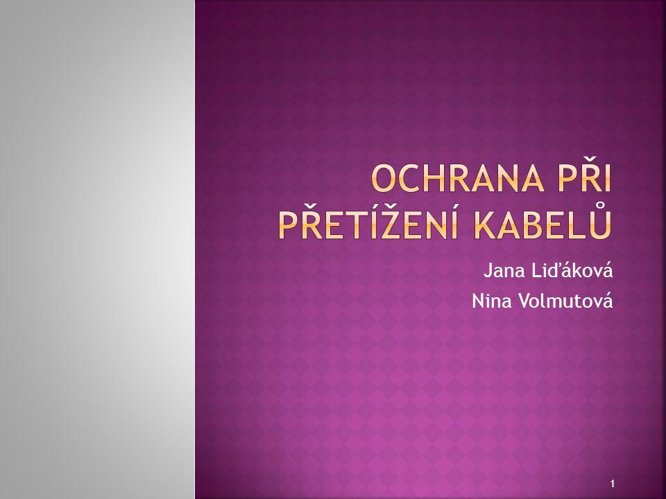 Jana Liďáková Nina Volmutová 1