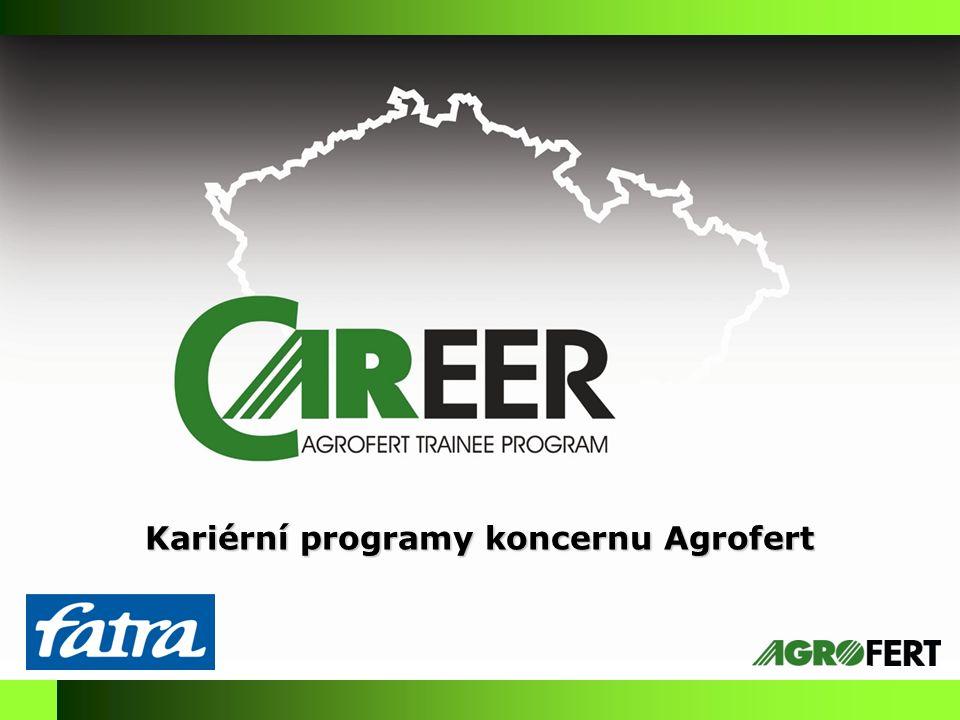 Kariérní programy koncernu Agrofert