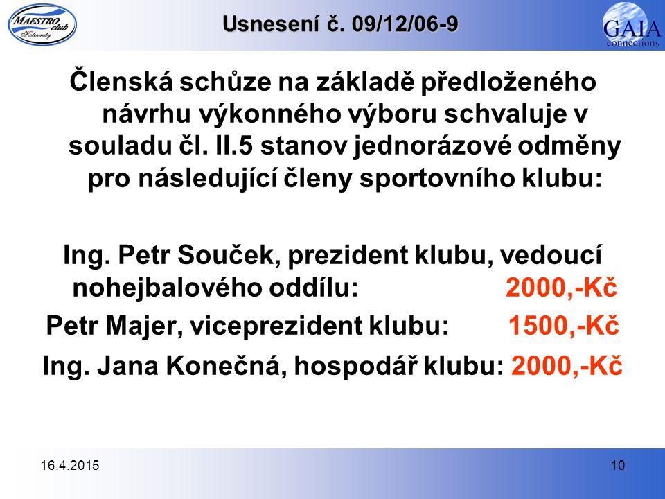 16.4.201510 Usnesení č.