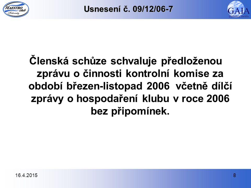 16.4.20158 Usnesení č.