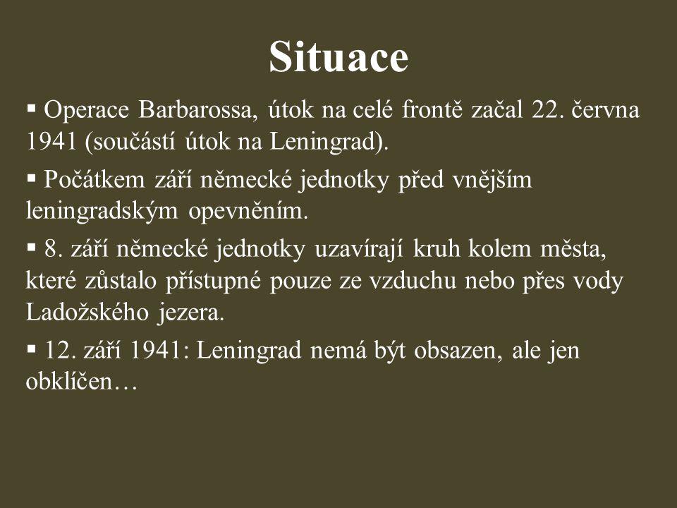 Použitá literatura, prameny:  REID, Anna.Leningrad: tragédie obleženého města, 1941−1944.