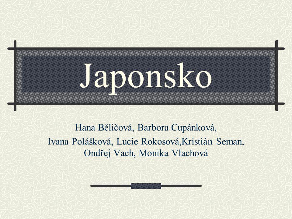 Japonsko Hana Běličová, Barbora Cupánková, Ivana Polášková, Lucie Rokosová,Kristián Seman, Ondřej Vach, Monika Vlachová