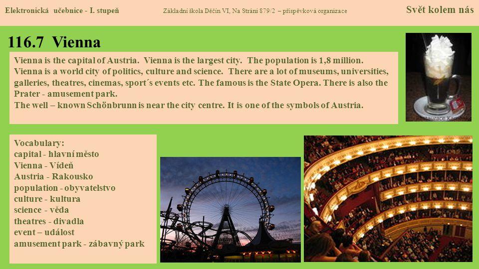 116.7 Vienna Elektronická učebnice - I.