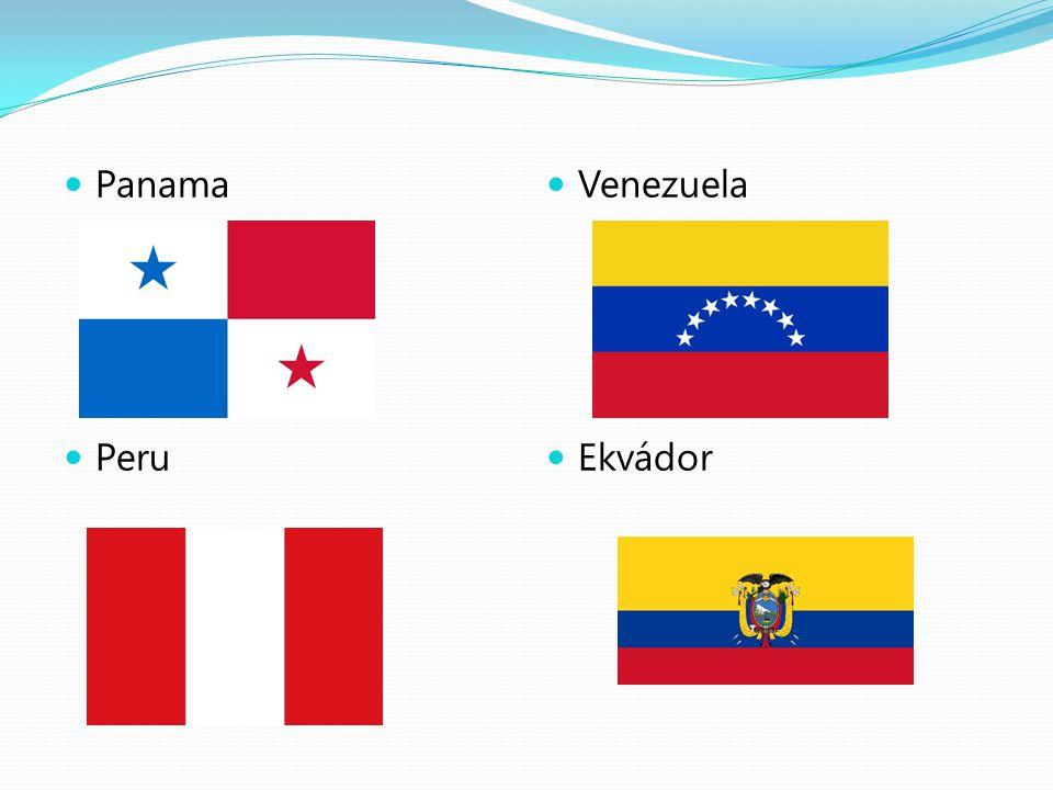 Panama Peru Venezuela Ekvádor