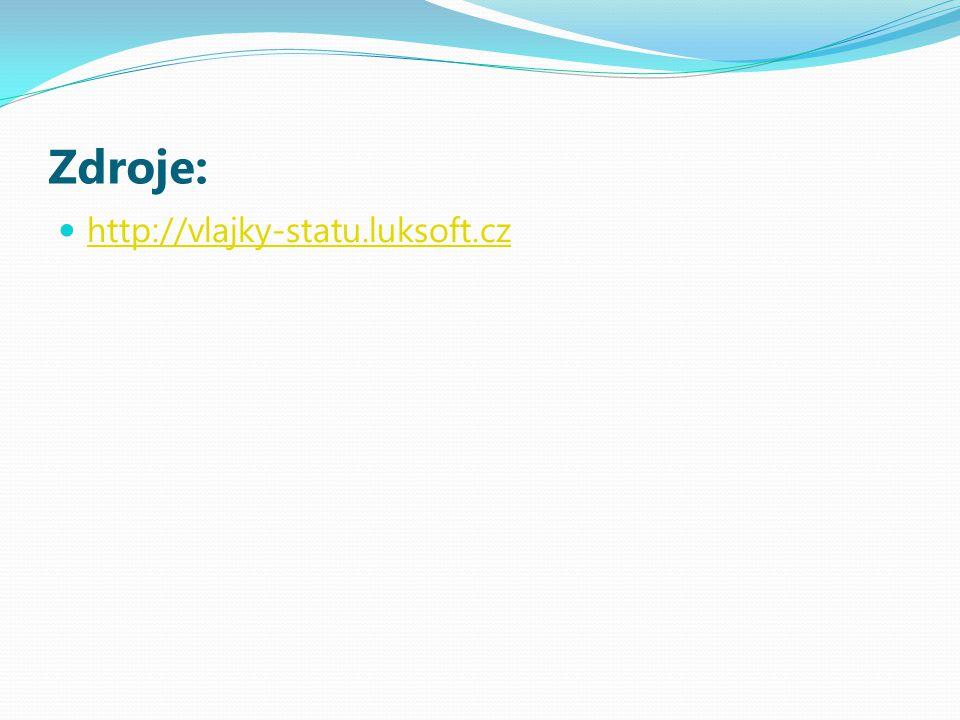 Zdroje: http://vlajky-statu.luksoft.cz