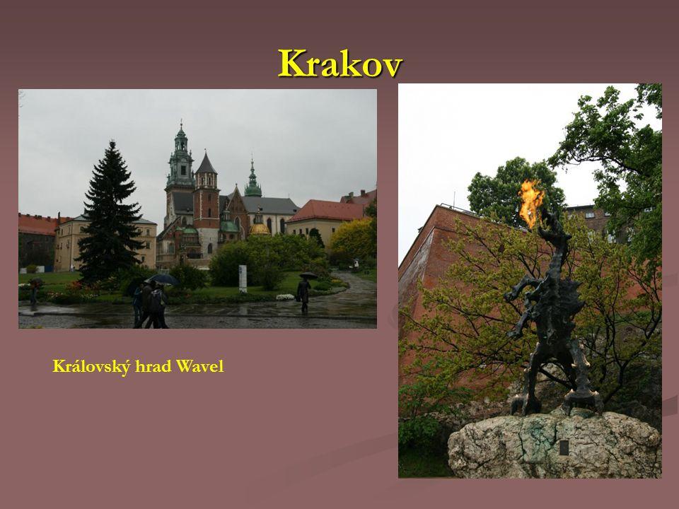 Krakov Královský hrad Wavel