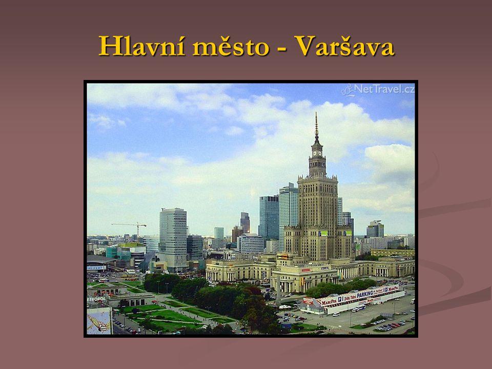 Hlavní město - Varšava