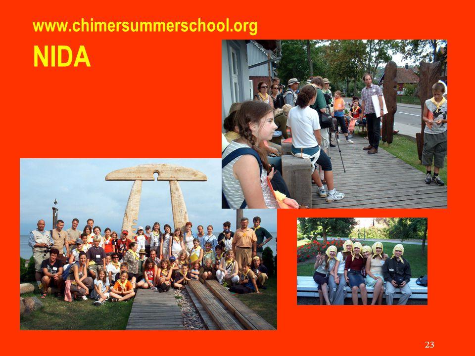 23 www.chimersummerschool.org NIDA