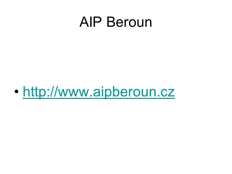 AIP Beroun http://www.aipberoun.cz