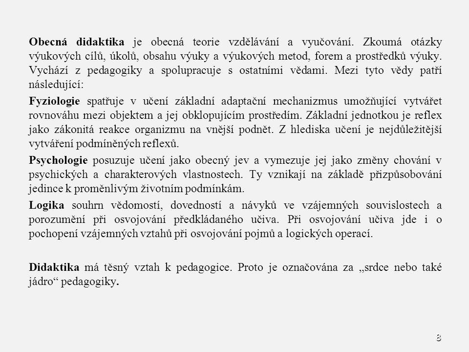 159 Použité metody a formy, materiální zajištění (pomůcky).