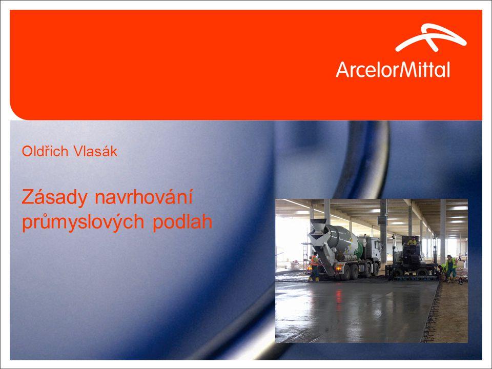 Oldřich Vlasák Zásady navrhování průmyslových podlah