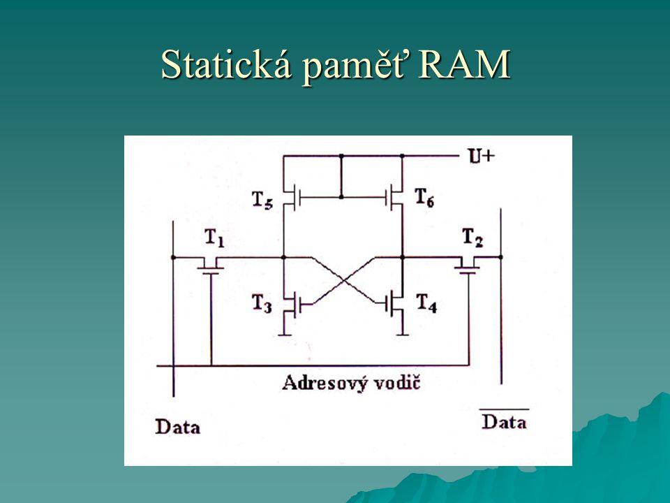 Statická paměť RAM