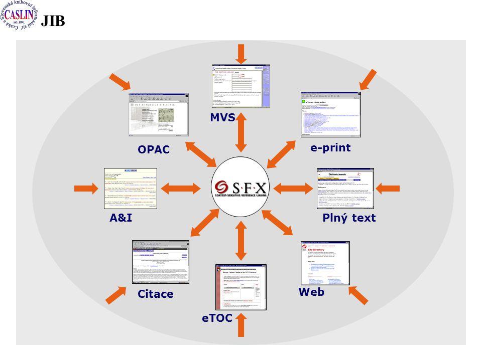 JIB A&I e-print Plný text OPAC MVS Citace Web eTOC