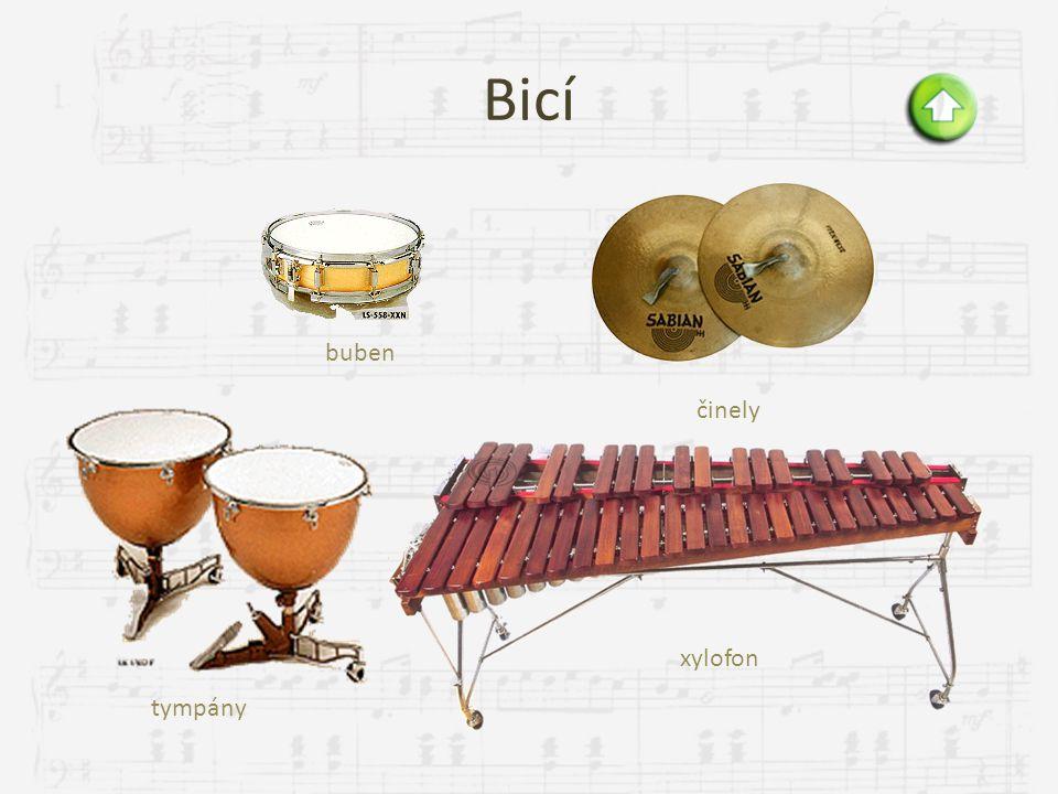 Kontrabas  největší a nejhlubší ze smyčcových nástrojů  díky velikosti se na něj hraje vstoje nebo v polosedě, nástroj stojí na bodci  má čtyři str