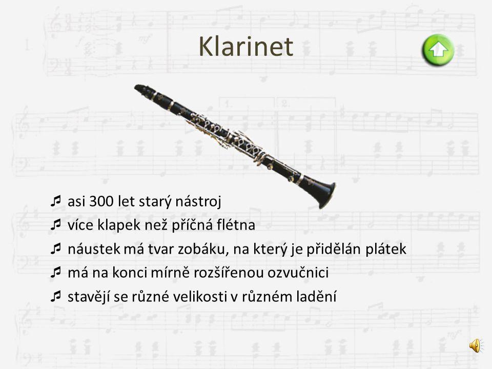 Příčná flétna  původně se vyráběla ze dřeva, pak po zdokonalení klapkového sytému se začala vyrábět z kovu (1847)  tón vzniká tak, že se fouká na os