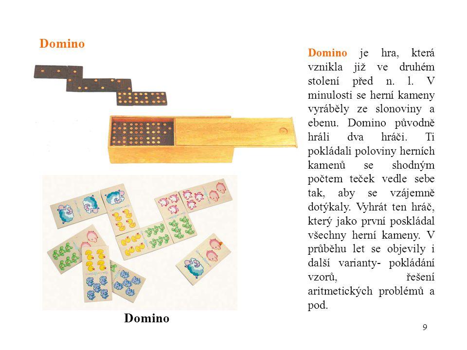 10 Domino- výkres,včetně krabičky (BROKBALS, 2008)