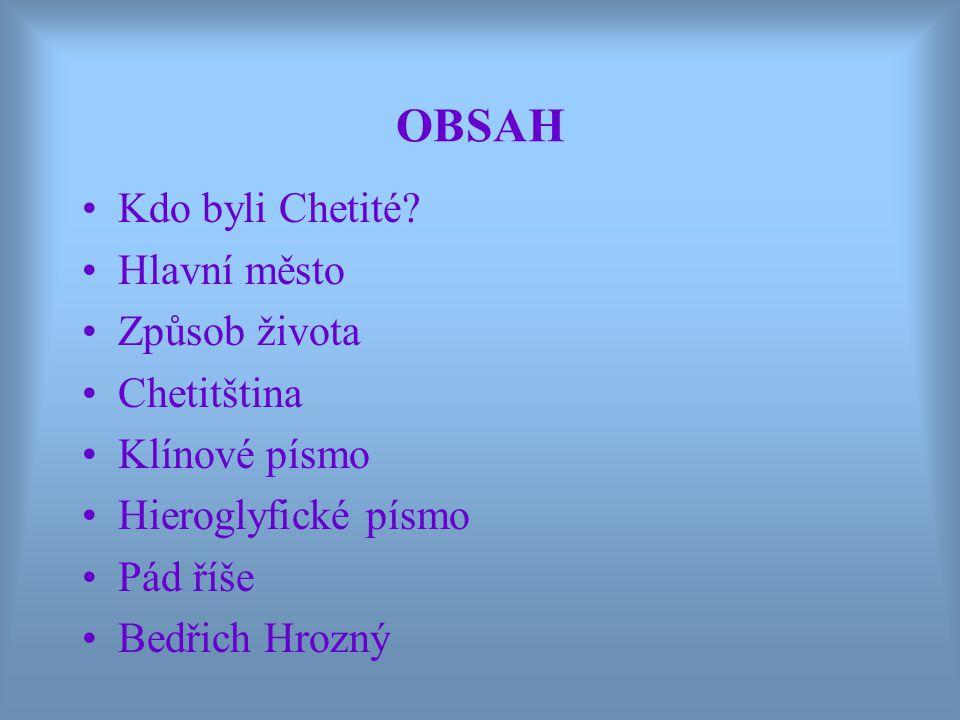 - rozluštil chetitský jazyk - položil základy samostatného oboru chetitologie - r.
