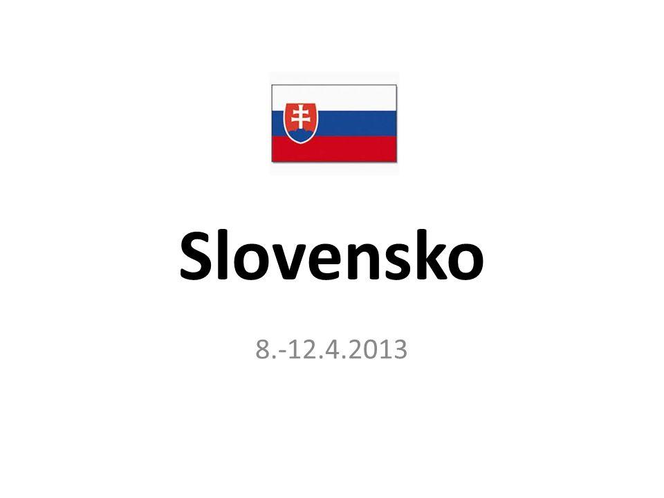Slovensko 8.-12.4.2013
