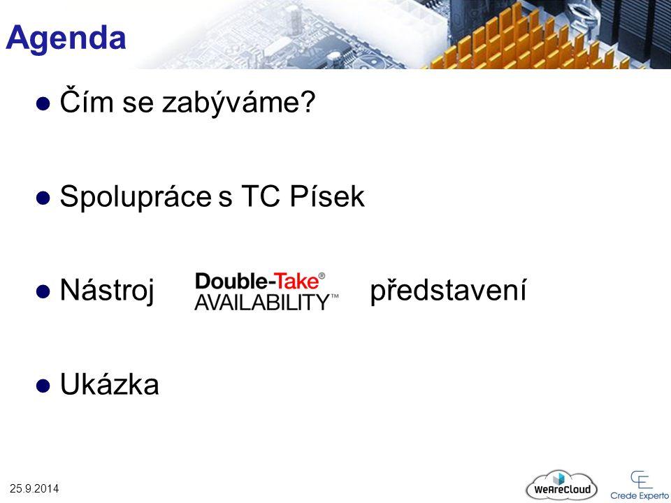 Double – Take ® - Ukázka 25.9.2014 HA Double-Take