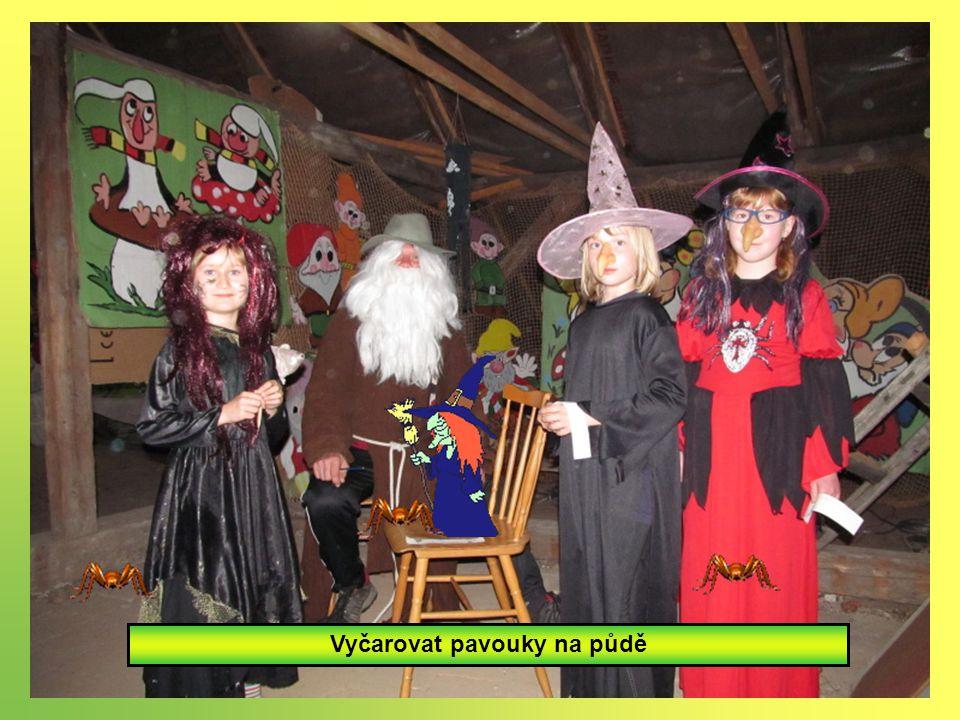 Namíchat čarodějnický lektvar