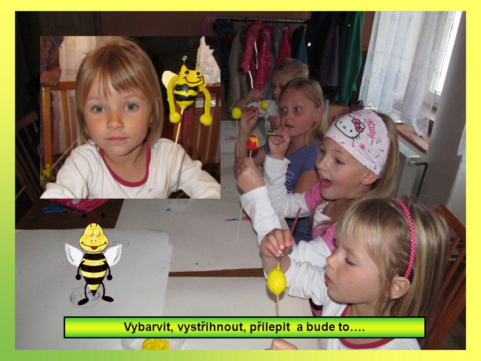 14.5. Knoflíci vytváří včelky
