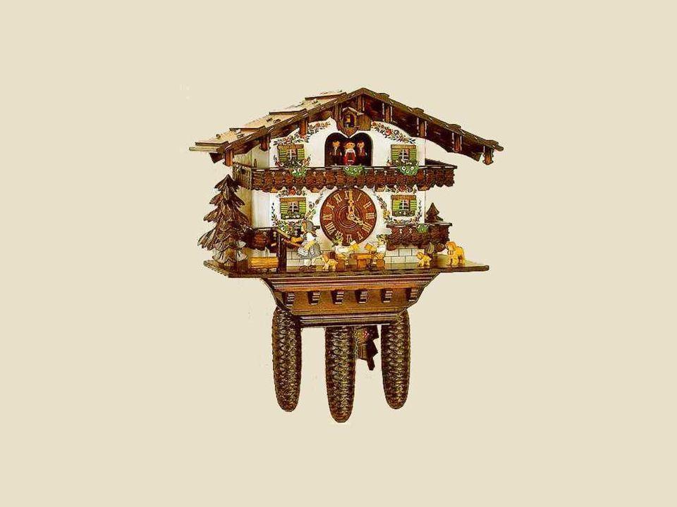 V současné době se tyto hodiny s kukačkou, vyřezané řemeslníky ve Schwarzwaldu, prodávají za 800 i více dolarů.