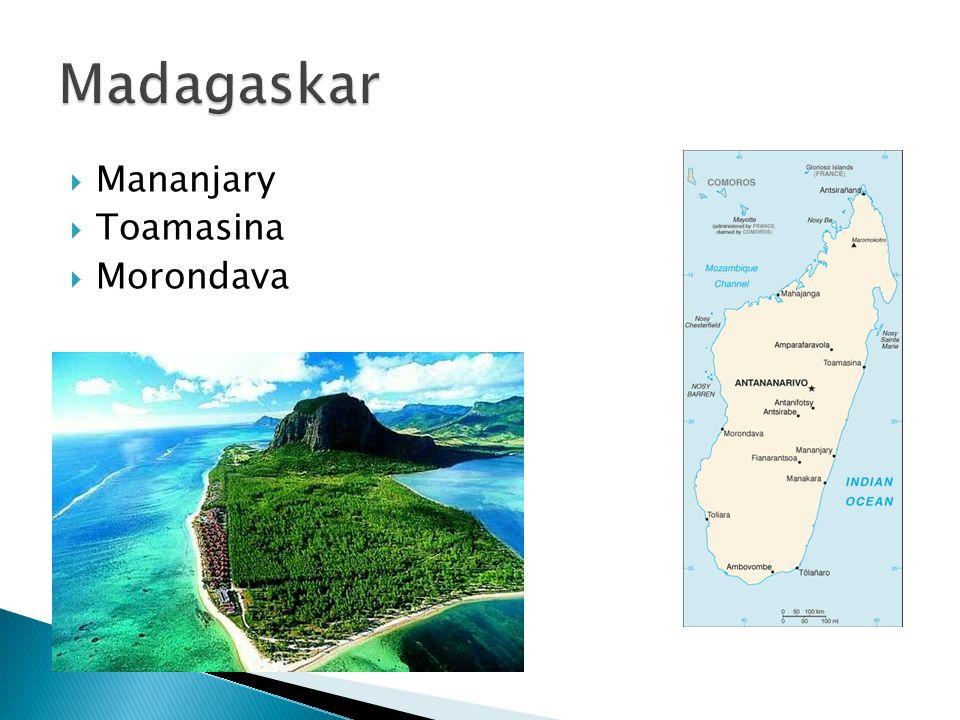  Mananjary  Toamasina  Morondava