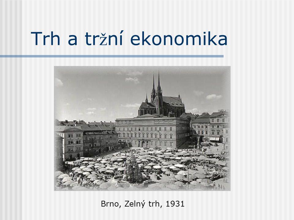 Trh a tr ž ní ekonomika Brno, Zelný trh, 1931