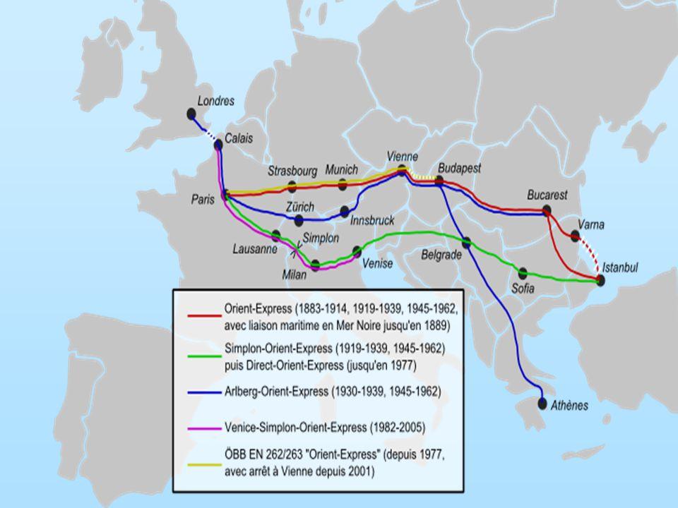 Orient Expres poprvé vyjel roku 1883 na trase Paříž – Istanbul.