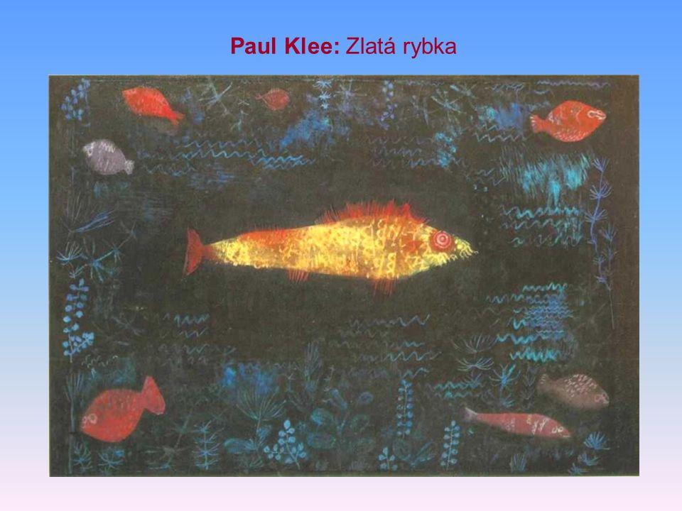 Paul Klee: Zlatá rybka