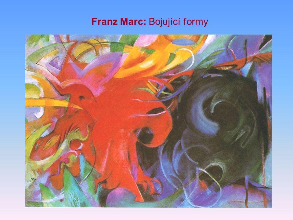 Franz Marc: Koně