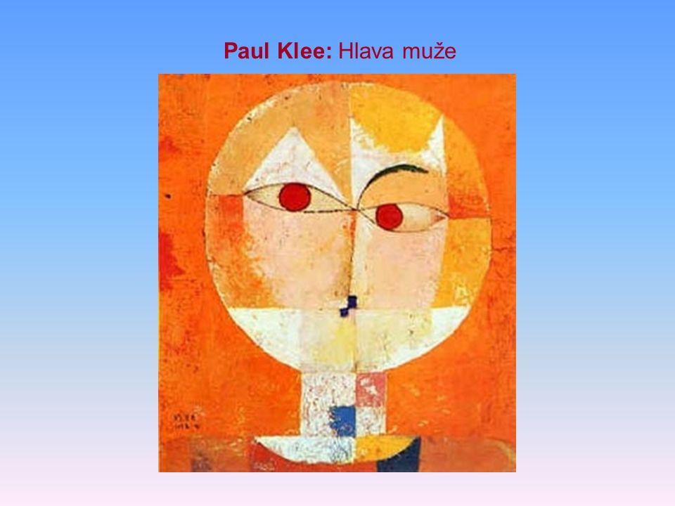 Paul Klee: Hlava muže