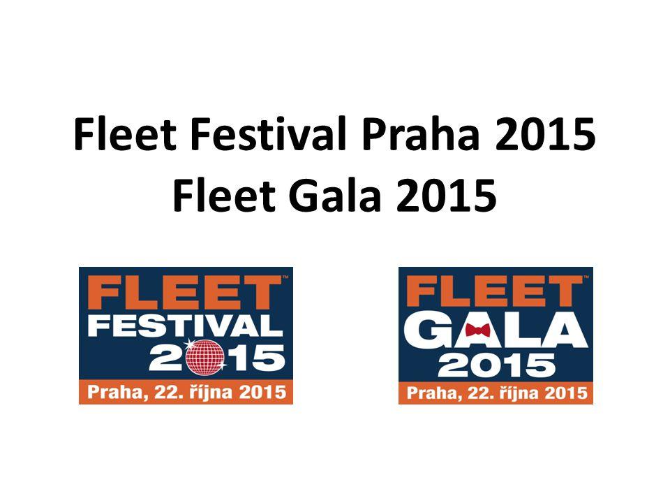 Fleet Festival Praha 2015 Fleet Gala 2015