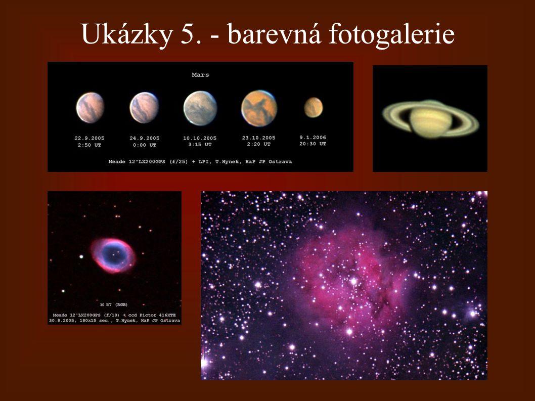 Ukázky 5. - barevná fotogalerie