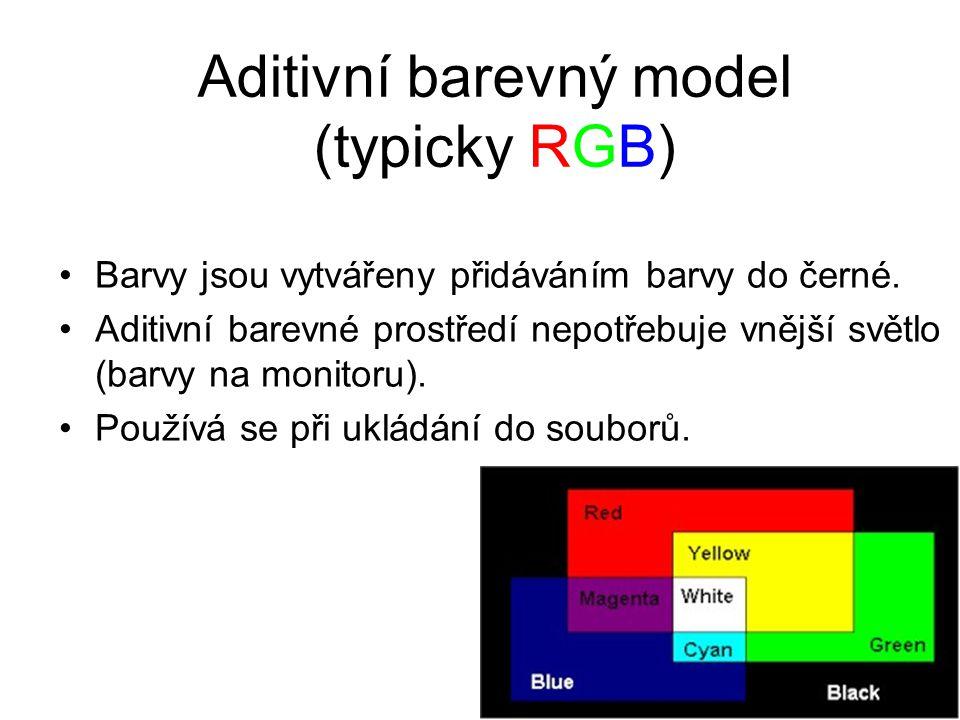 Barevné modely Ze kterých základních barev se budou ostatní skládat? Jaký bude poměr jednotlivých základních barev? Jakým způsobem se budou základní b