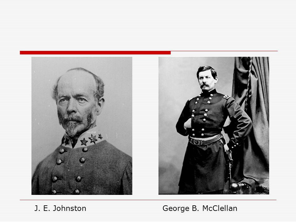 J. E. JohnstonGeorge B. McClellan