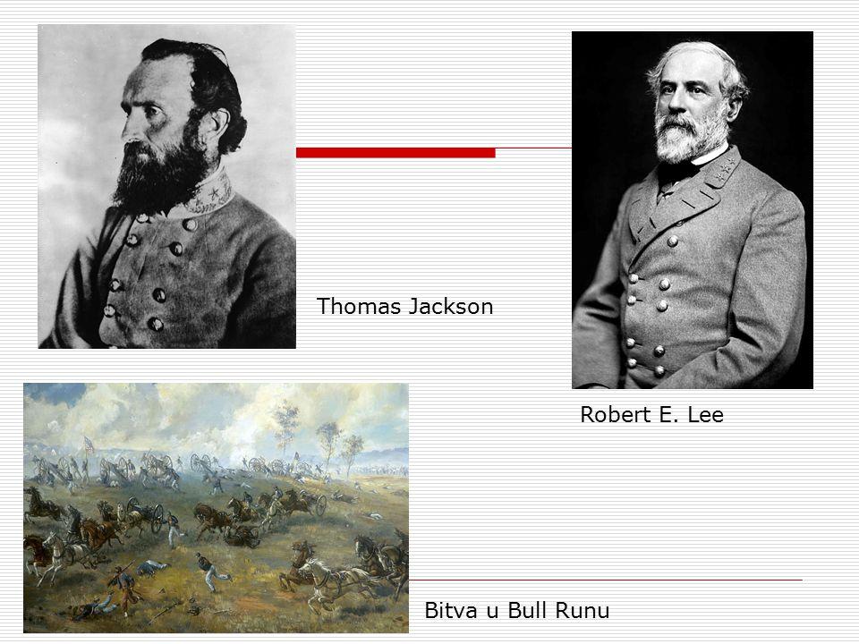 Robert E. Lee Thomas Jackson Bitva u Bull Runu