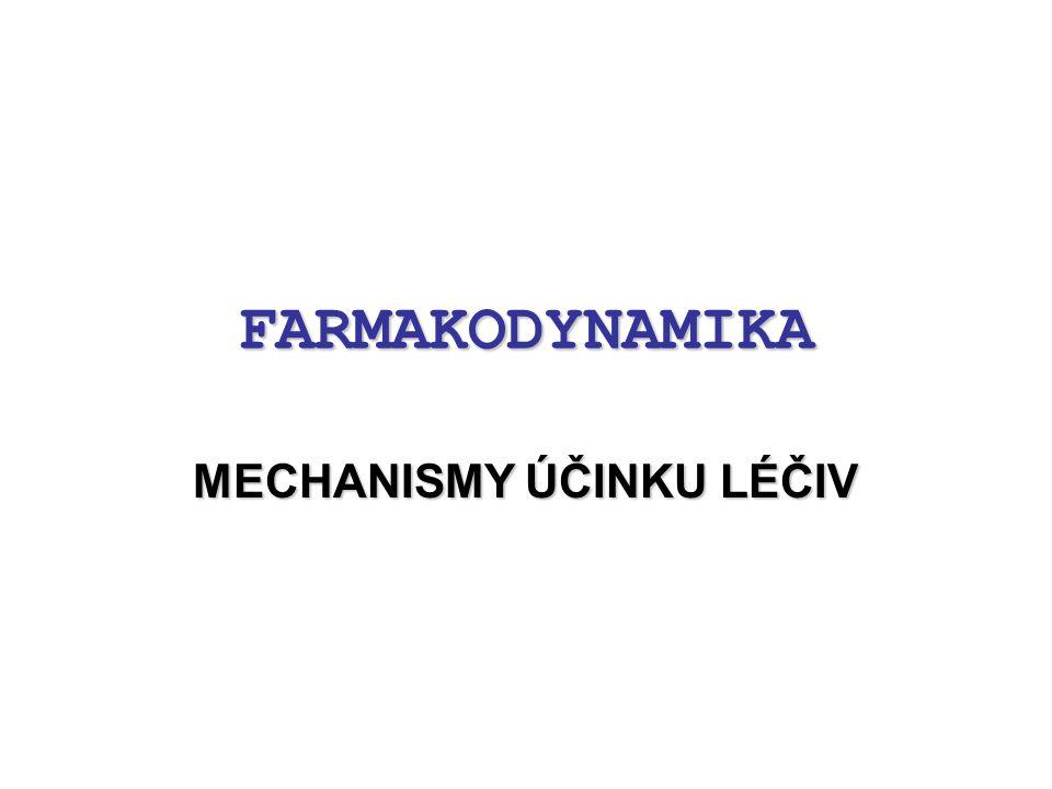 """Úvod Definice: –""""farmakologie je věda zabývající se interakcí chemické látky (léčiva) s živým organismem –organismus je systém z hierarchicky uspořádaných podsystémů (úrovní) → molekulární→ subcelulární → buněčná→ tkáně → orgány → orgánové systémy → organismus jako celek organismus léčivo farmakodynamika farmakokinetika"""