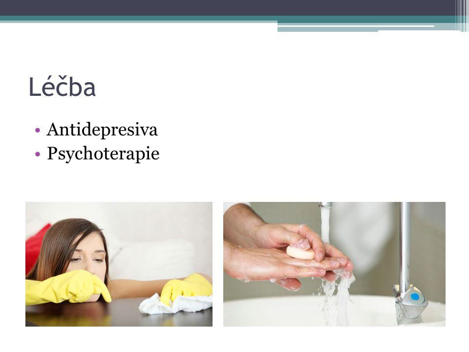 Léčba Antidepresiva Psychoterapie